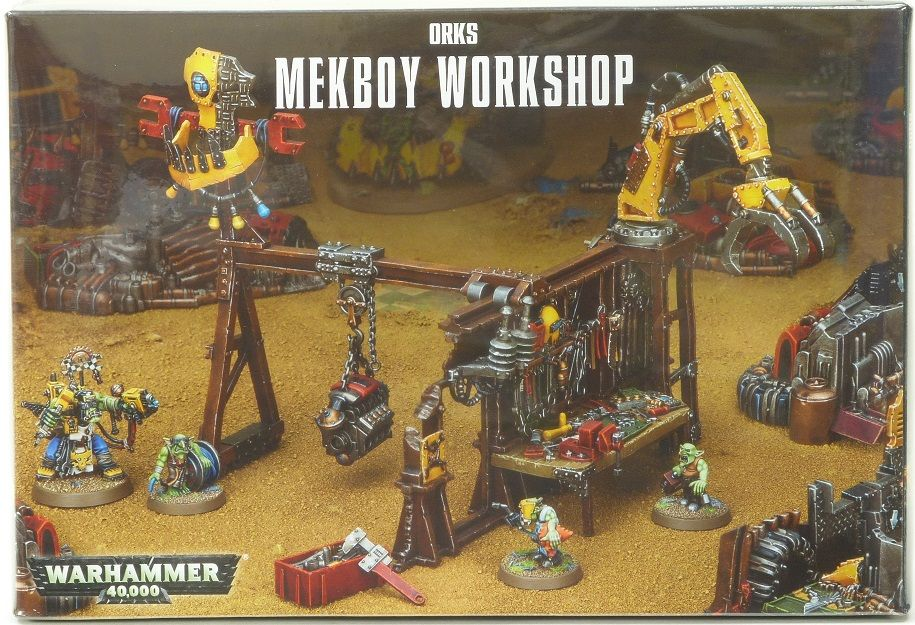 Warhammer 40,000 Orks Mekboy Workshop (50-28) - Pastime Sports & Games