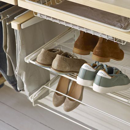 Elfa Gliding Shoe Shelf & Rack