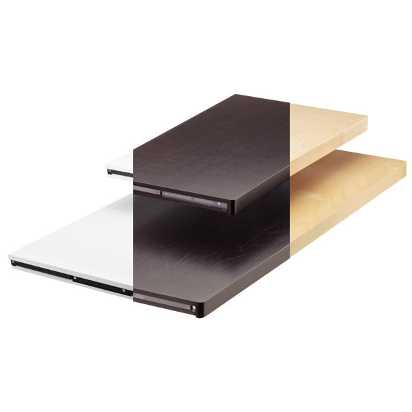 Solid Decor Shelves - Elfa Storage for the Office