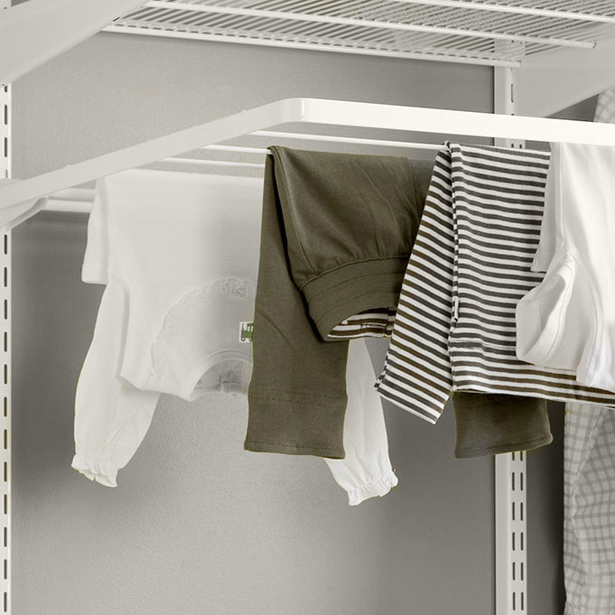 Elfa Laundry Storage - Collapsible Drying Rack