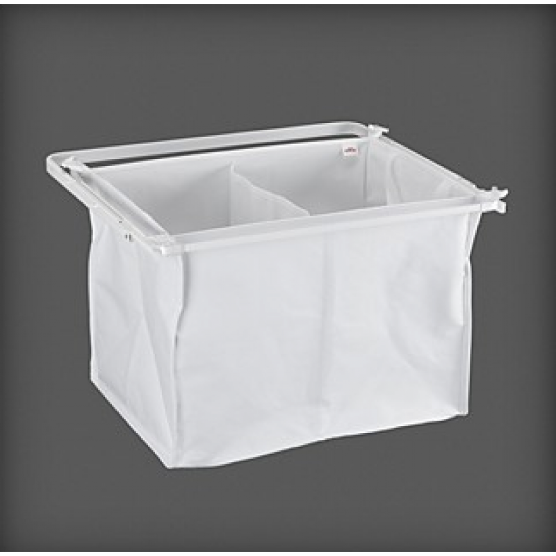 Elfa Laundry Storage - Pull out Laundry Hamper