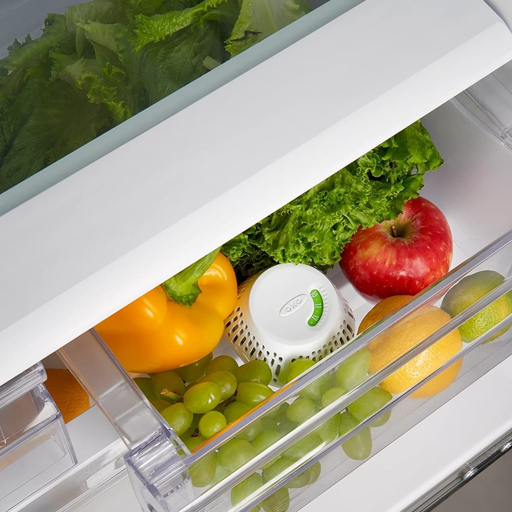 keep your fruit and vegetables fresher for longer with a crisper insert