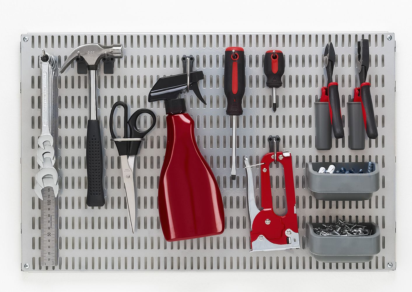 Elfa Pegboard for Tools