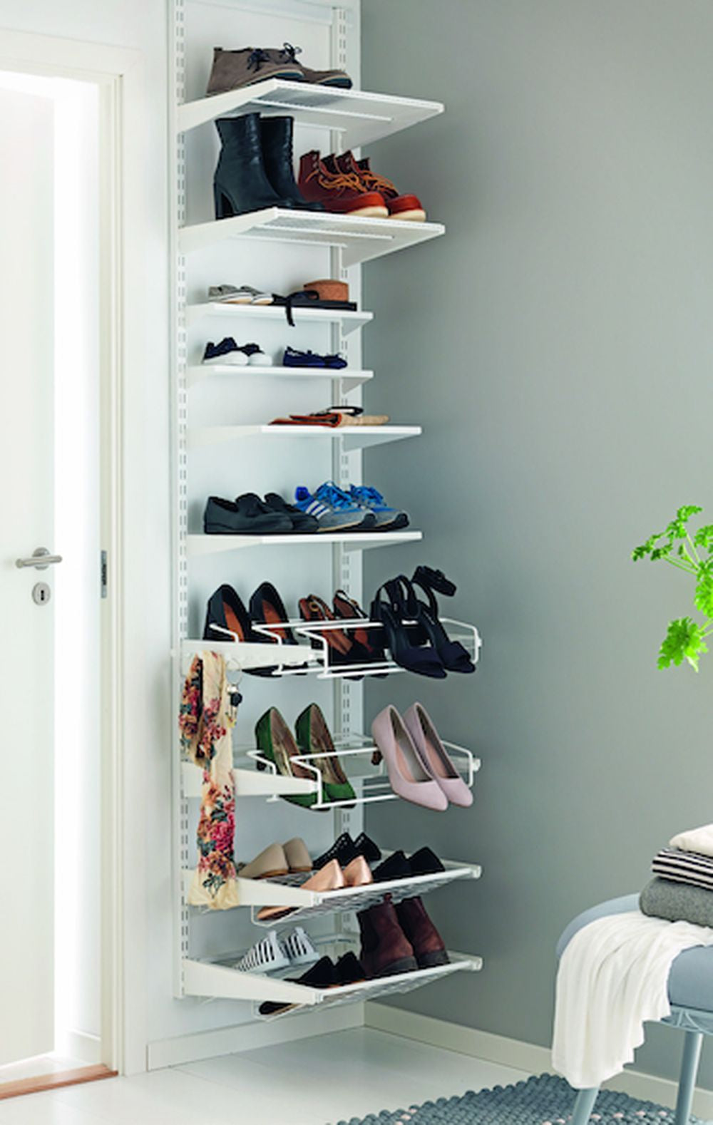 Elfa Shoe Storage
