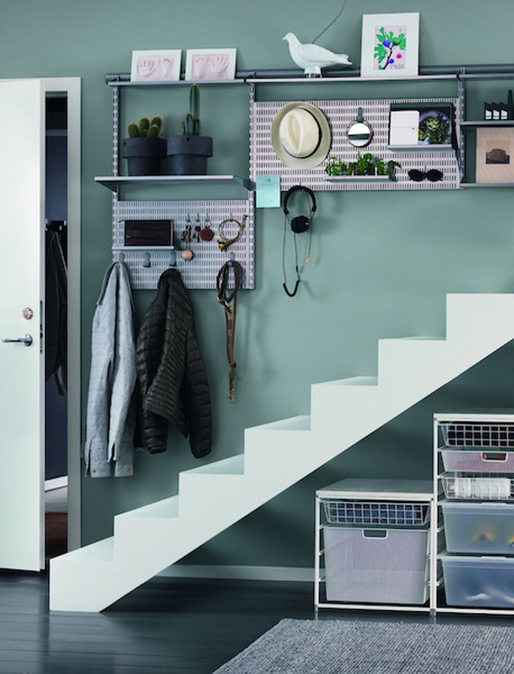 Function & style with Elfa shelving