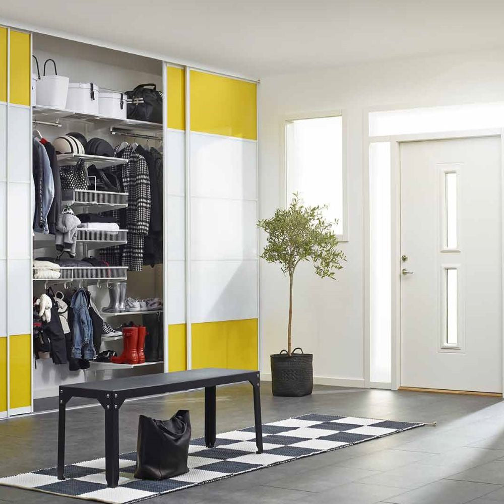 Create space with Elfa storage