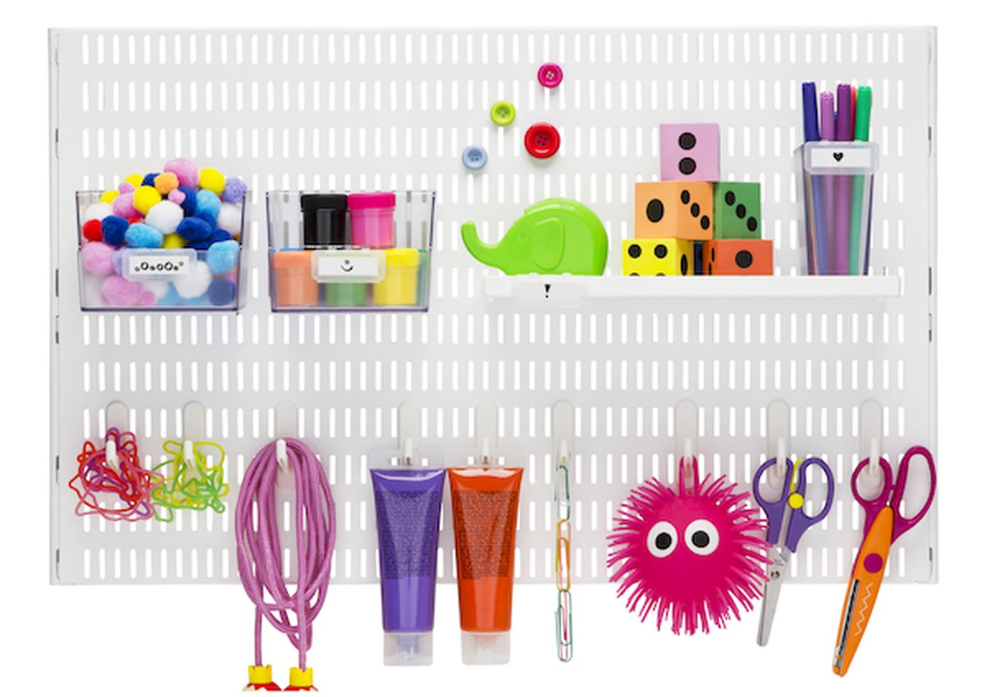 Elfa toy storage