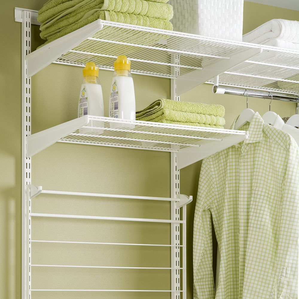 Elfa Shelving for towels