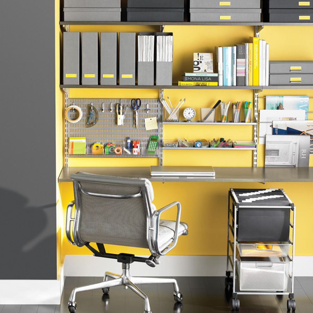 Elfa storage for the office
