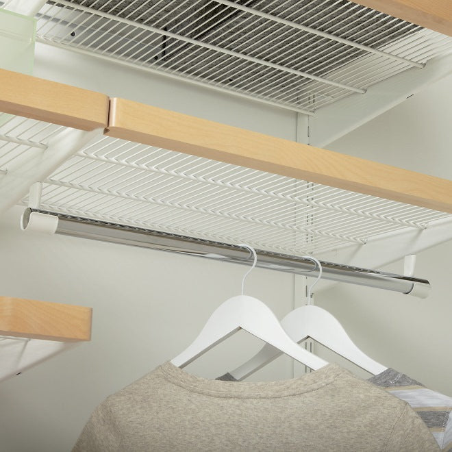 Elfa Laundry Storage - Clothes Rod Holder