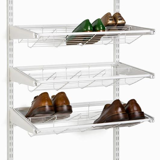 Elfa Gliding Shoe Shelf