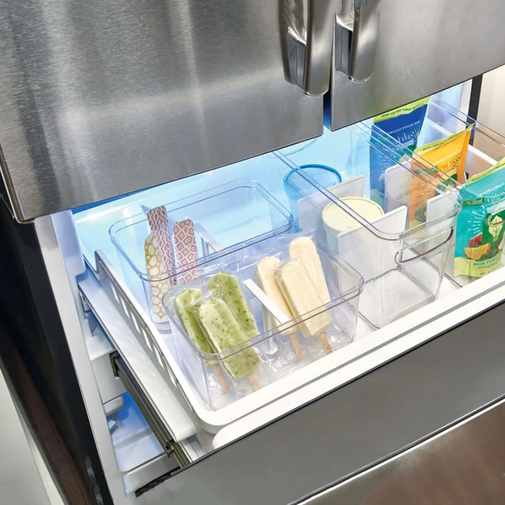 tall fridge organisers will keep your most commonly-used items decluttered and easy to find