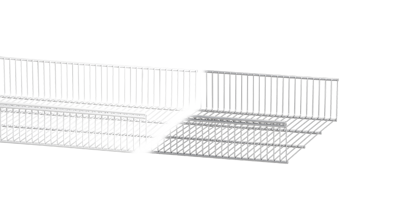 Elfa Ventilated Shelf Basket
