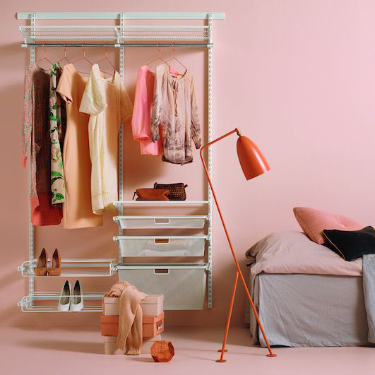 Customise a space that works for you with an Elfa Wardrobe
