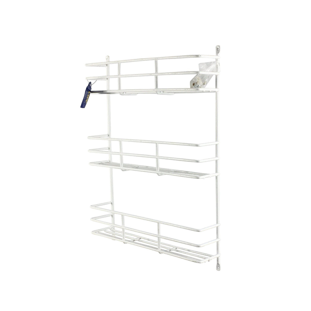 3 Tier Spice Rack White - Soko & Co