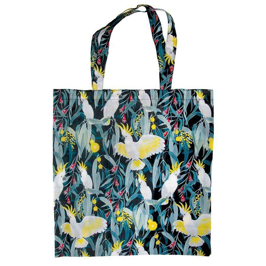 Australian Birds Reusable Shopping Bag - LIFESTYLE - REUSABLE BAGS - Soko & Co