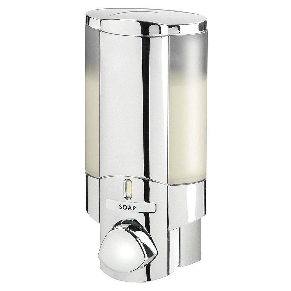 Aviva Single Shower Soap Dispenser Chrome | Storage ...