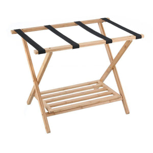 Bamboo Luggage Rack - WARDROBE - VALETS & LUGGAGE RACKS - Soko & Co