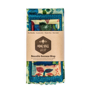 Beeswax Wrap 4 Pack - KITCHEN - ACCESSORIES - Soko & Co