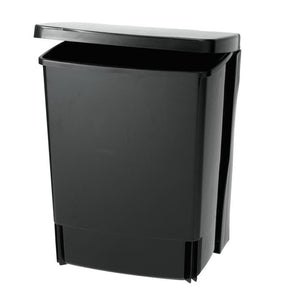 Brabantia 10L Built In Rectangle Bin Black - BINS & BOXES - BINS - Soko & Co
