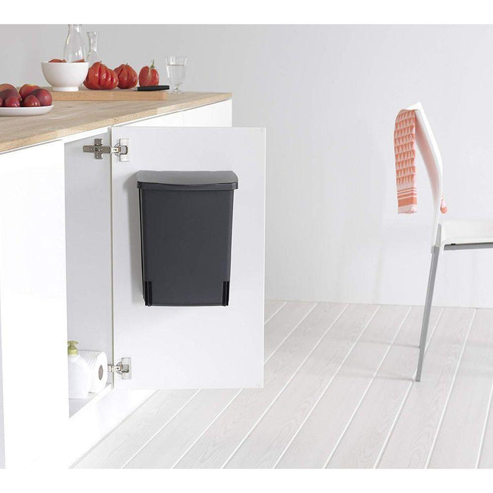 Brabantia 10L Built In Rectangle Bin Black