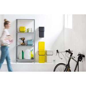 Brabantia 12L Sort & Go Waste Bin Mint - Soko & Co