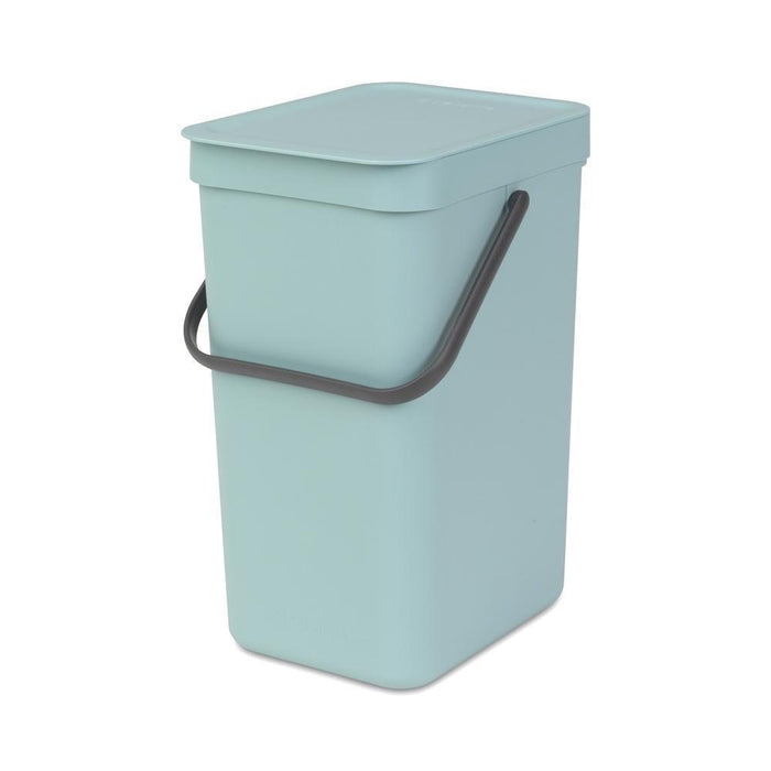 Brabantia 12L Sort & Go Waste Bin Mint