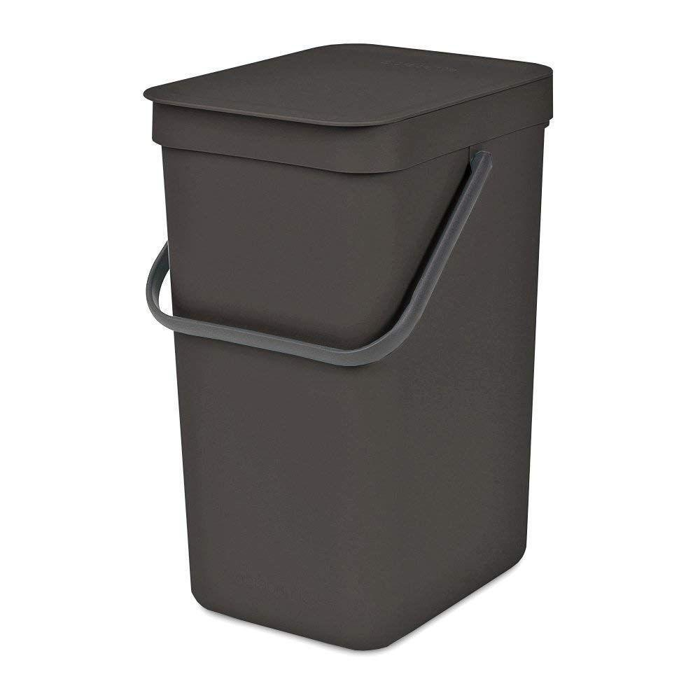 Brabantia 16L Sort & Go Waste Bin Grey - Soko & Co