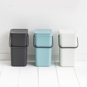 Brabantia 16L Sort & Go Waste Bin Mint - Soko & Co