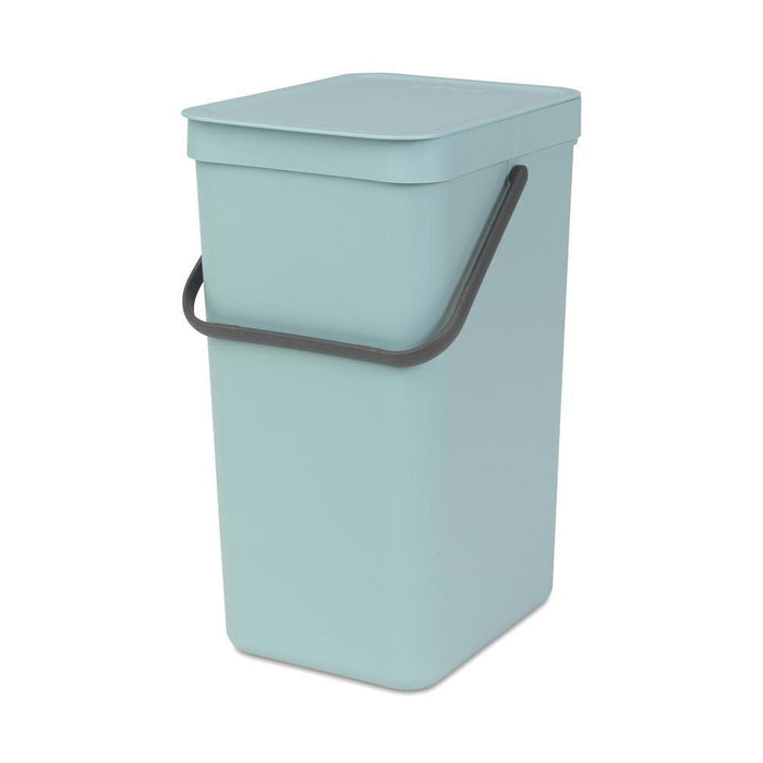 Brabantia 16L Sort & Go Waste Bin Mint