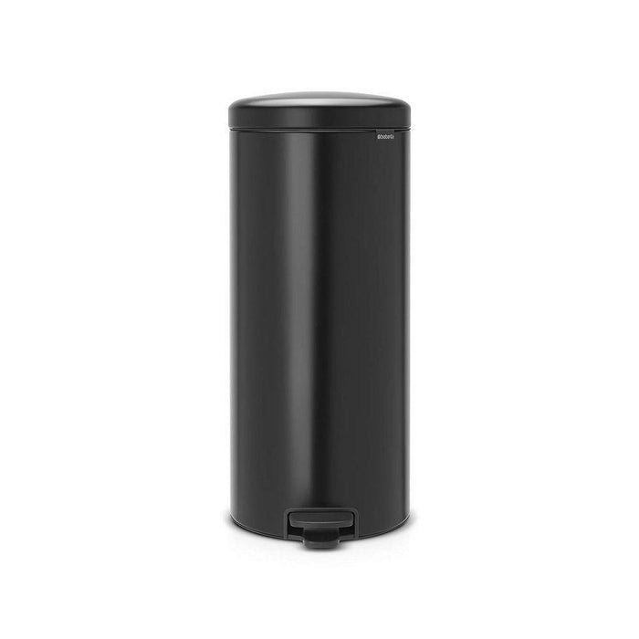 Brabantia 30L Icon Pedal Bin Matt Black