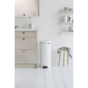 Brabantia 30L Icon Pedal Bin White - Soko & Co