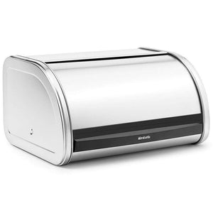 Brabantia Medium Roll Top Bread Bin Matt Steel - Soko & Co