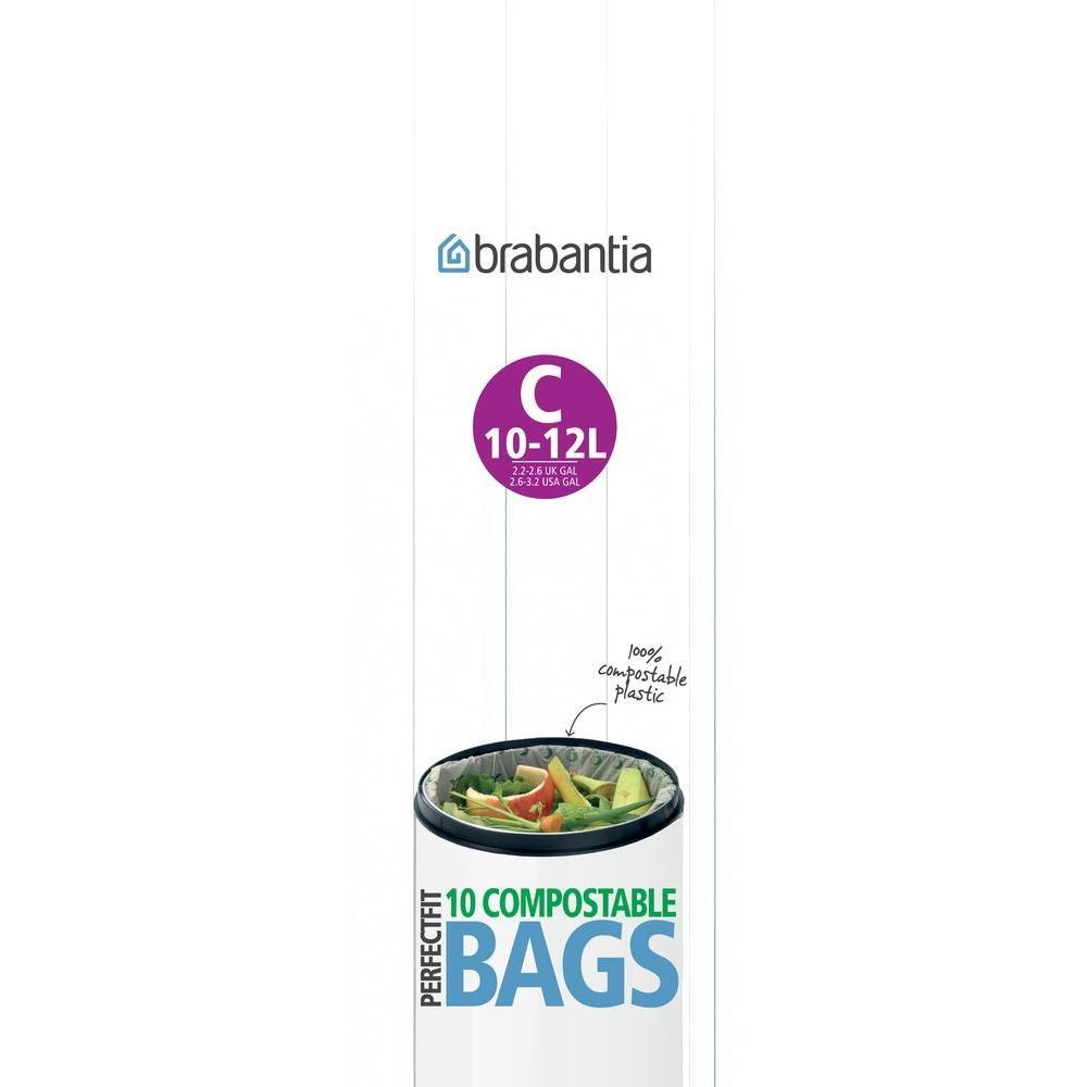 Brabantia Perfect Fit Bin Liner C 10 Pack - BINS & BOXES - BIN LINERS - Soko & Co