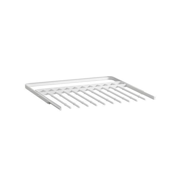 Elfa Gliding Pant Rack 60 White - ELFA - GLIDING DRAWERS & RACKS - Soko & Co