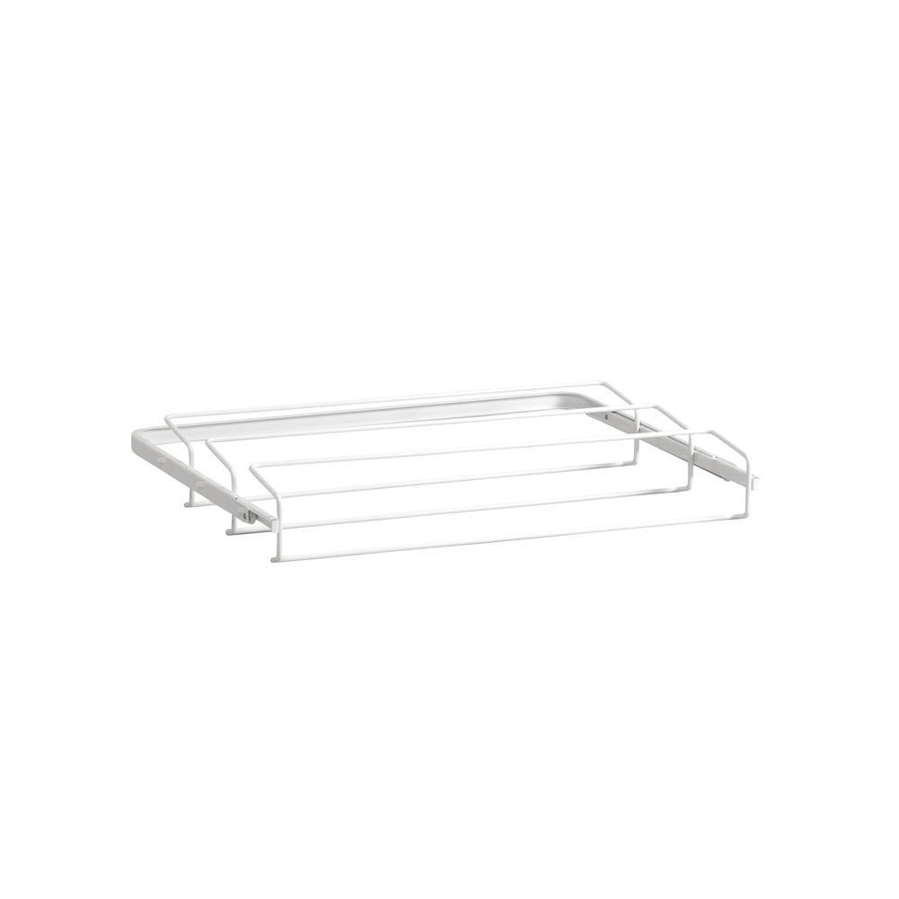 Elfa Gliding Shoe Rack 60 White - ELFA - GLIDING DRAWERS & RACKS - Soko & Co