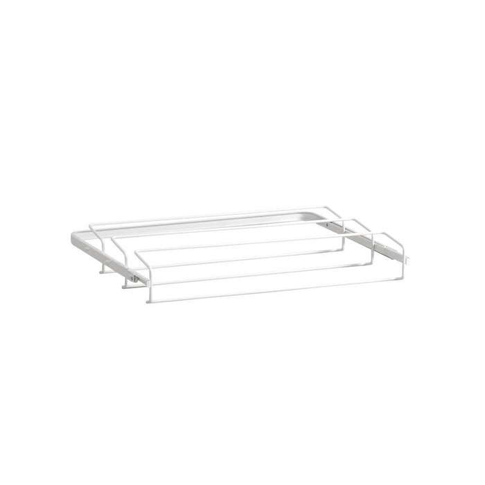 Elfa Gliding Shoe Rack 60 White