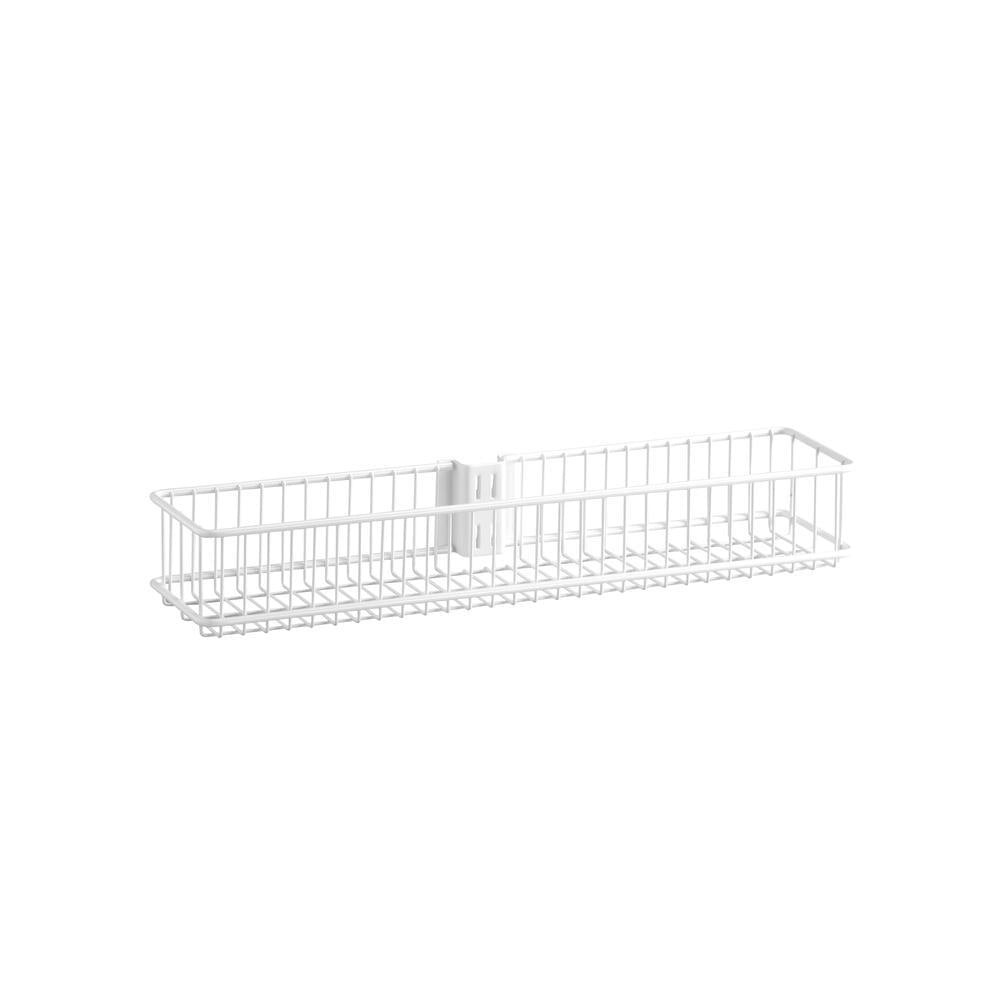 White Medium Wire Utility Basket - Soko & Co