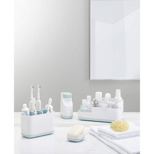 Joseph Joseph Easy-Store Bathroom Caddy - BATHROOM - TUMBLERS & TOOTHBRUSH HOLDERS - Soko & Co