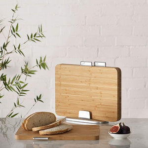 Joseph Joseph Index Bamboo Chopping Boards - KITCHEN - BASKETS, TRAYS & BOARDS - Soko & Co