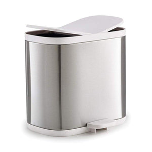 Joseph Joseph Split Bathroom Recycle Bin Stainless Steel - Soko & Co