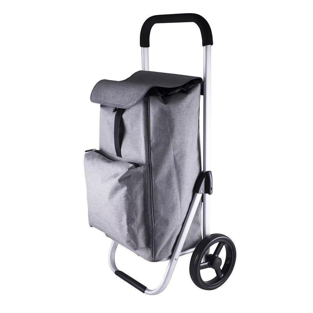 Karlstert Deluxe Aluminium Shopping Trolley Graphite - Soko & Co