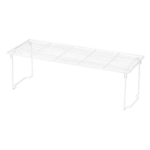 Large Handy Shelf with Locking Legs White