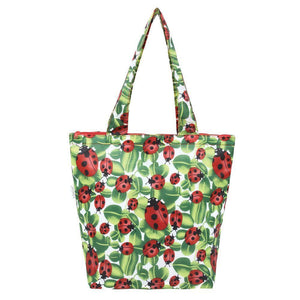 Sachi Insulated Market Tote Lady Bird - Soko & Co