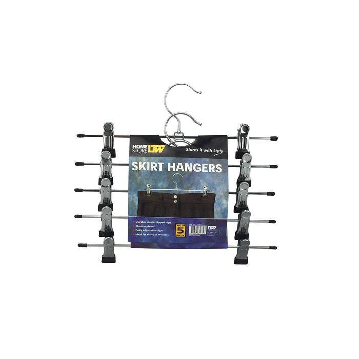 Skirt Clip Hangers 5 Pack