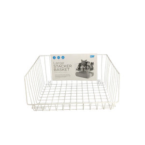 Stacker Basket White - Soko & Co