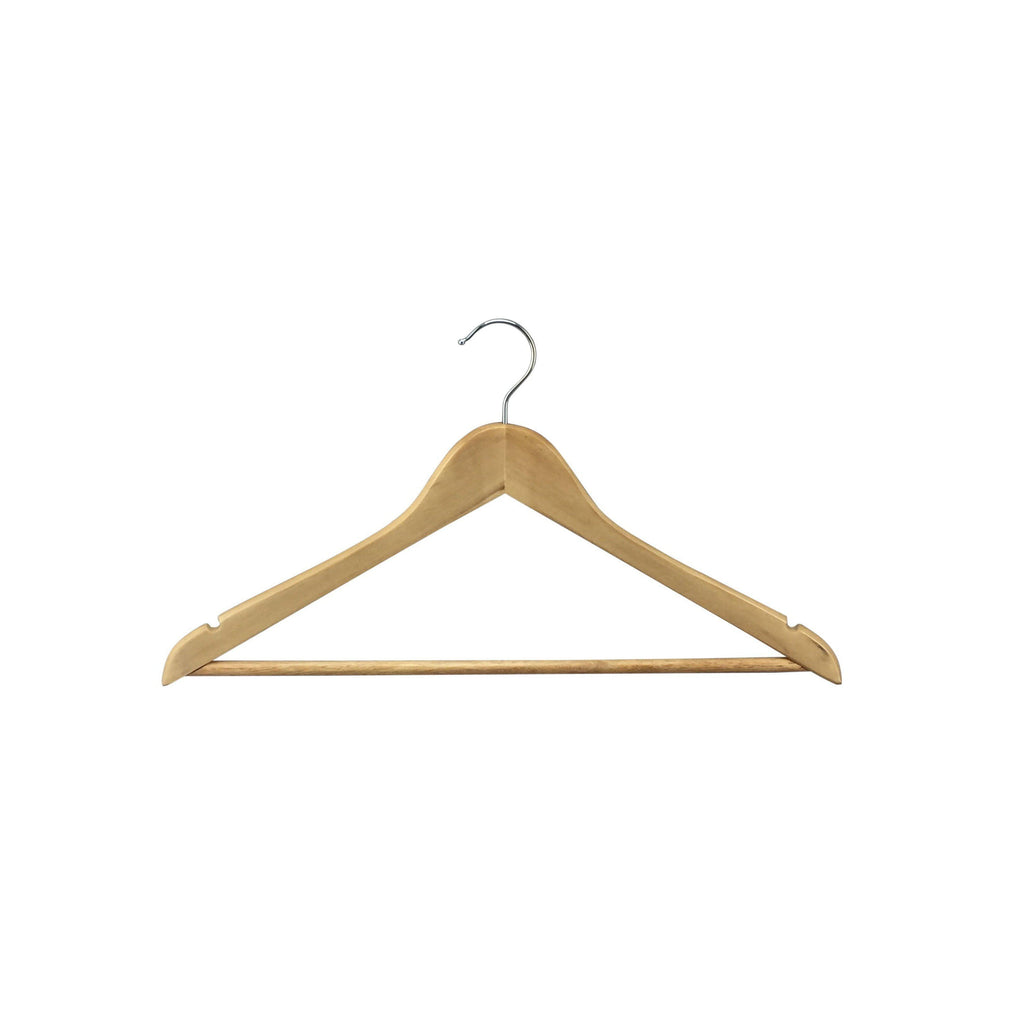 Timber Suit Hangers 5 Pack - WARDROBE - CLOTHES HANGERS - Soko & Co