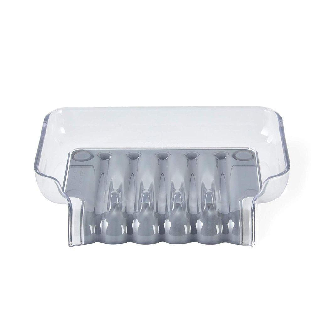 Trickle Tray Soap Holder Grey - Soko & Co