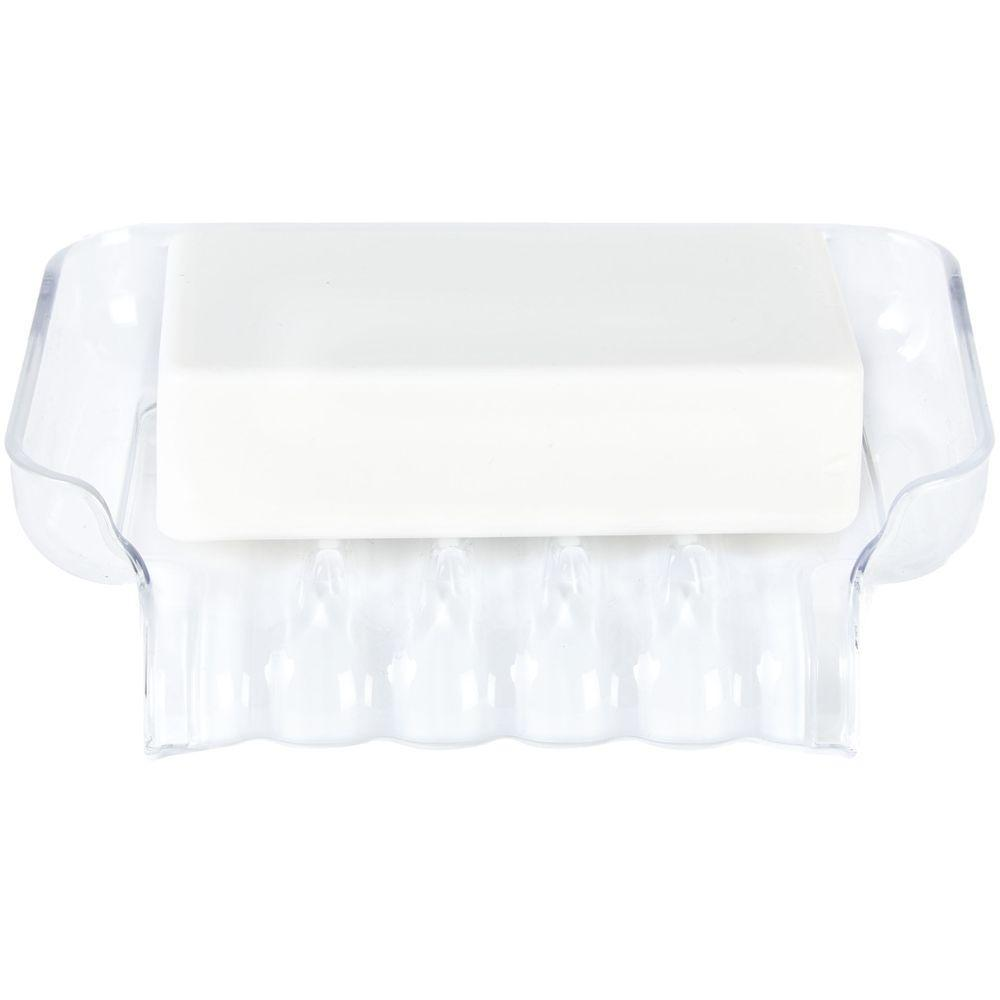 Trickle Tray Soap Holder White - Soko & Co