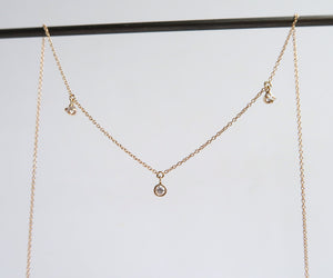 Nishi Diamond Layer Necklace